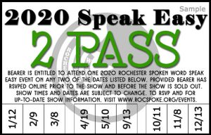 2020 Speak Easy 2 Pass