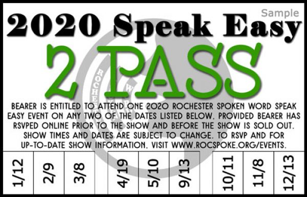 2020 Speak Easy 2 Pass