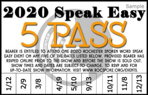 2020 Speak Easy 5 Pass